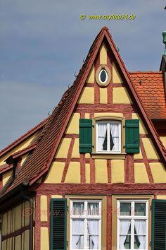 cityfoto24 - Marktbreit Shops, Cabin, House Styles, Home Decor, Tents, Decoration Home, Room Decor, Cabins, Retail