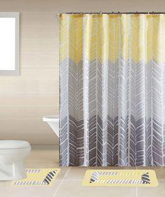 YELLOW SONIA 15PC Complete Bathroom Set Rubber Backing Rug Bath Mats SHOWER   Home & Garden, Bath, Shower Curtain Hooks   eBay!