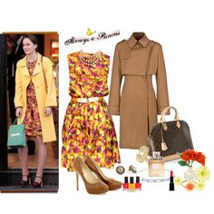 Blair Waldorf Fashion-Gossip Girl, created by meggie-lair on Polyvore