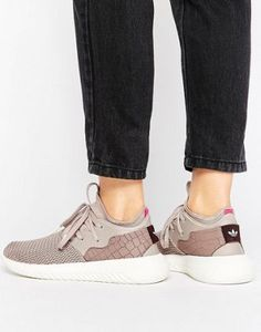 adidas Originals Dusky Purple Tubular Entrap Sneakers
