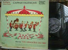 Lp Vinil - Os Dragões do Rei - Antigas Marchas Carnavalescas - http://www.infinityclassic.com.br/produtos/lp-musica-instrumental/lp-vinil-os-dragoes-do-rei-antigas-marchas-carnavalescas/