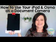 How to Use your iPad & Osmo as a Document Camera - YouTube Teaching Strategies, Teaching Math, Teaching Ideas, Ipad Hacks, Document Camera, Speech Therapy, Speech Pathology, Camera Hacks, French Lessons