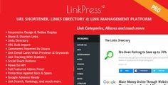 LinkPress Pro – Advanced URL Shortener, Links Directory & Link Management Platform