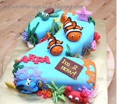 Mysunshine Cake: No.2 cake - Finding Nemo theme