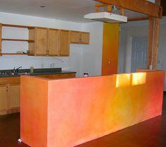 lazured kitchen