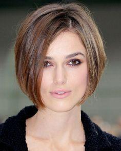 Keira Knightley rocks short hair