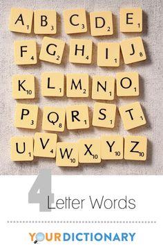 4 letter words word finder