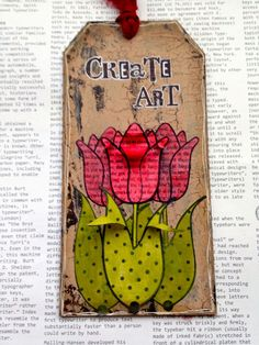 Crafty Thoughts: Red and flowers  http://gabrielle-price.blogspot.com/2015/01/red-and-flowers.html