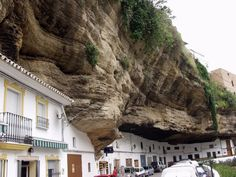 Einbau Häuser-im Fels Spanien Setenil