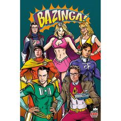 Buy The Big Bang Theory Superheroes Wall Poster online and save! Big Bang Theory Superheroes Maxi Poster This is a maxi poster that features the cast of The Big Bang Theory re-imagined as the superheros that they a. The Big Theory, Big Bang Theory Funny, Leonard Hofstadter, The Big Bang Therory, Narnia, Tbbt, Movies And Series, Jim Parsons, Super Hero Costumes