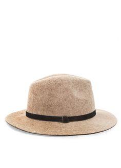 Chapéu borsalino lã