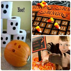 3 Fun Halloween Games - mix in a little game playing with your trick-or-treating! #halloween #halloweengames