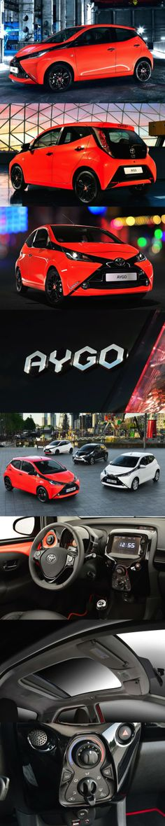 Make yours your own, the All New Toyota Aygo another small car that offers a huge choice of customisation, Go Fun yourself says Toyota of their All New small car. For the first time Toyota is offering a wealth of features inside and out that can be specified in different colours and finishes. #toyota #drive #aygo #newcars