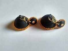 Quilling Zumka black and gold