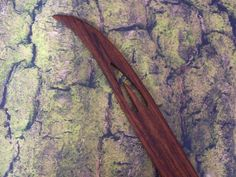 27b. Zebrawood pick up / Saami shuttle for weaving - pinned by pin4etsy.com