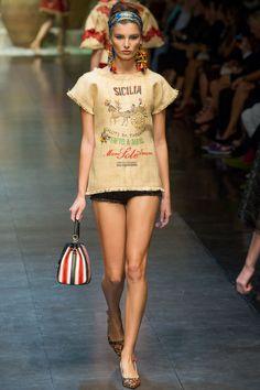 Spring 2013 RTW Dolce & Gabbana