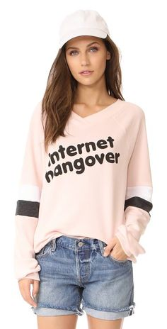 32147314a8262f On SALE at 30% OFF! internet hangover sweatshirt by Wildfox. Bold  internet