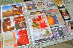 Mish Mash: Project Life 43 using Lily Bee's Urban Autumn. Heart Projects, Fall Projects, Diy Projects, Pocket Page Scrapbooking, Scrapbooking Ideas, Project Life, Smash Book Pages, Paper Art, Paper Crafts