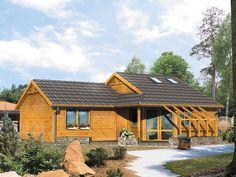 DOM.PL™ - Projekt domu MT Szyper 7 bal-S CE - DOM ST2-76 - gotowy projekt domu