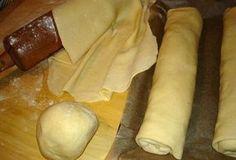 RYCHLÉ TĚSTO NA ZÁVIN - ŠTRŮDL - od mojí babičky :-) Slovak Recipes, Czech Recipes, Ethnic Recipes, Strudel, Dairy, Bread, Cheese, Cooking, Cake