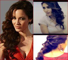 007 SKYFALL BOND GIRL, Berenice Marlohe: FORMAL HALF-UP UPDO TWIST WITH CURLS, HAIR TUTORIAL FOR LONG HAIR | MakeupWearables