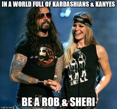 Image tagged in kardashians,rob zombie,kanye west,funny,funny memes