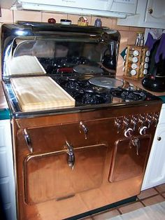 Chambers Stove Brand New Cutting Board. Woodworking Projects Plans, Teds Woodworking, Stove Parts, Vintage Stoves, Antique Stove, Diy Cutting Board, Fun Snacks For Kids, Kitchen Wall Art, Kitchen Decor
