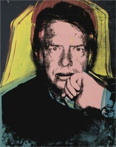 Jimmy Carter by Andy Warhol, 1976