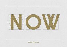 Kino Veritas – Bespoke Typeface by Little White Lies , via Behance
