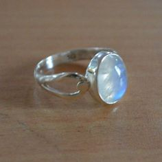 Natural Moonstone Jewelry 925 Sterling Silver by DevmuktiJewels