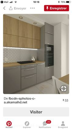 Home Decor Kitchen Pantry Ideas Kitchen Room Design, Modern Kitchen Design, Living Room Kitchen, Home Decor Kitchen, Diy Kitchen, Kitchen Interior, Home Kitchens, Kitchen Pantry, Modern Kitchen Cabinets