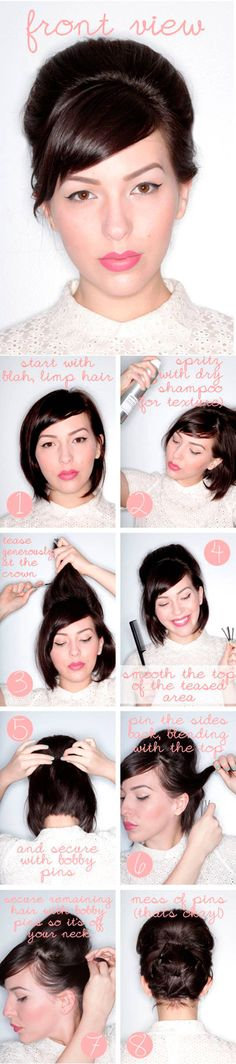best tutorials for short medium hair  - Cosmopolitan.co.uk
