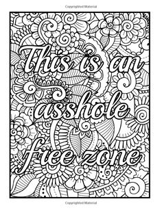 Amazon Com Be F Cking Awesome And Color An Adult Coloring Book
