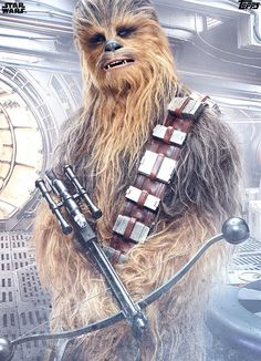 Chewbacca in the Last Jedi