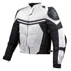 PRO MESH MOTORCYCLE JACKET RAIN WATERPROOF WHITE XL. For product info go to:  https://www.caraccessoriesonlinemarket.com/pro-mesh-motorcycle-jacket-rain-waterproof-white-xl/