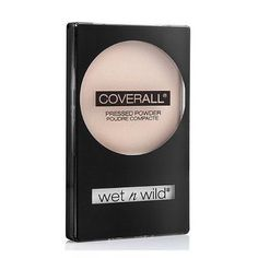 Wet N Wild Coverall Pressed Powder, #823B Light - 0.26 Oz