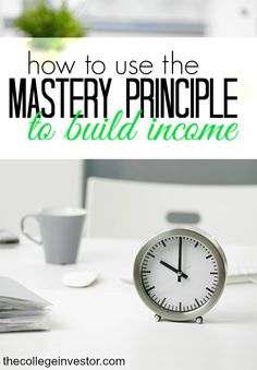 Want to build multiple streams of income? Here's how you can keep your focus and build your income quicker by using the mastery principle. Earn More Money, Earn Money Online, Ways To Save Money, How To Get Money, Money Tips, Online Jobs, Multiple Streams Of Income, Income Streams, Finance Blog
