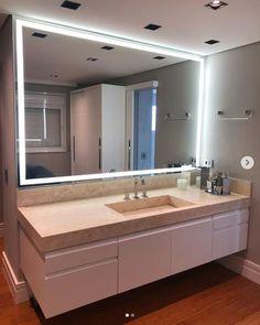 Bedroom False Ceiling Design, Girl Bedroom Designs, Bathroom Cleaning, Dining Room Design, Bathroom Interior, Led Mirror, Room Inspiration, My House, Sweet Home