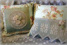 """Купить Комплект декоративных подушек """"На террасе,в саду"""". - подушка, Подушки, декоративные подушки"""