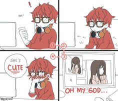 *casually sips tea while playing Seven's route* || Mystic Messenger ★