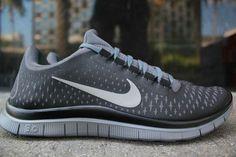 aed9370d1de NIKE FREE 3.0 V4 DARK GREY Silver 511457 005 Nike Free Run 3