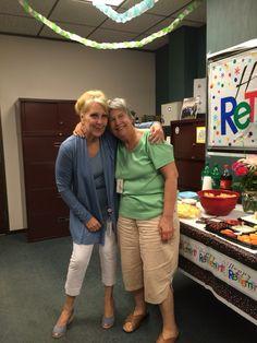 Barbara's Retirement 07/15/16 Barbara & Me