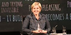 """Shame and vulnerability researcher Dr.  Brené Brown isn't afraid to be uncool. In the above clip from """"Oprah's Lifeclass,"""" she discusses how our culture's preoccupation with criticism and acting """"cool"""" has made us stop caring."""