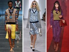 Gucci, Prada and Michael Kors have all revived the classic, bookish look in a variety of patterns for spring/summer 2017.