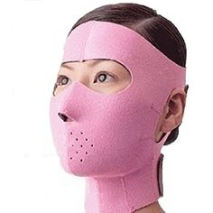 KOLIGHTAnti Wrinkle Facelift Slimming Cheek Mask Lift V Face Line Slim up Belt Strap full facepink ** Continue to the product at the image link. (Note:Amazon affiliate link)