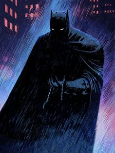 "herochan: "" Sad Batman Art by Joshua Hixson "" Batman Artwork, Batman Wallpaper, Batman Comic Art, Joker Batman, Batman Meme, Batman Poster, Gotham Batman, Batman Robin, Lego Batman"