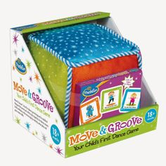 ThinkFun Move & Groove, Your Child's First Dance Game. Great for toddlers 18 months+. Received a 5 Star Review from Next Generation Stay At Home Mom!