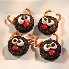 Reindeer Cookies - http://www.freefunchristmas.com/