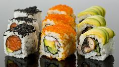 fancy sushi rolls - Google Search