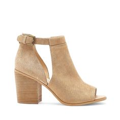 Caramel Block Heel Sandal | Ferris | Free Shipping on Orders $30+